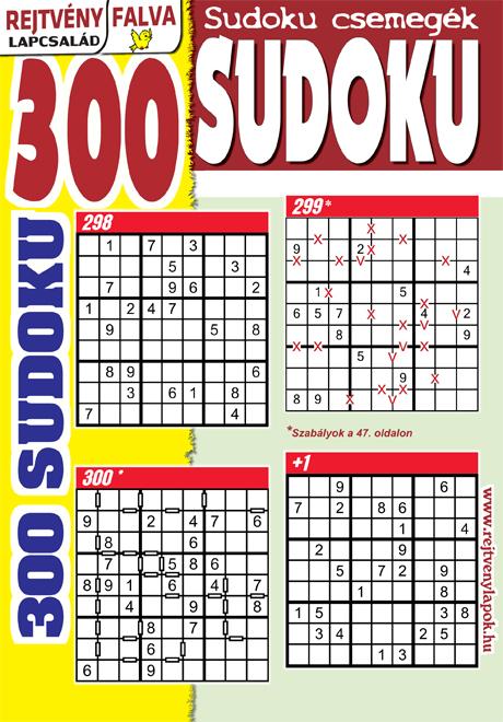 Kiadvány - 300 Sudoku