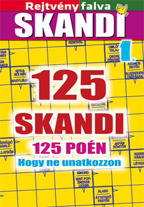 Kiadvány - Rejtvényfalva SKANDI könyv