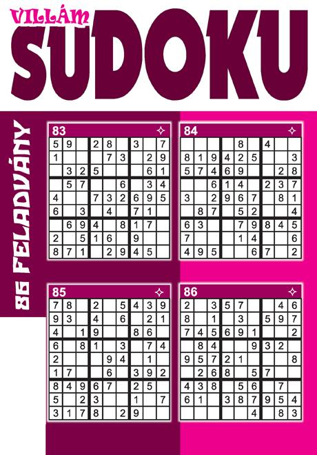 Villám Sudoku